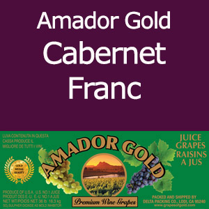 Amador Gold Cabernet Franc