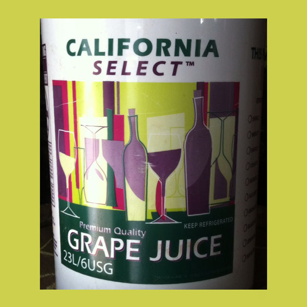California Juices White Zinfandel