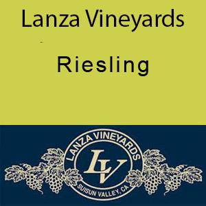 Lanza Vineyards Riesling