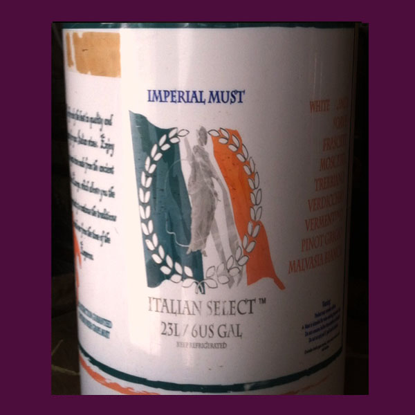 Italian Juices Vino de Casa