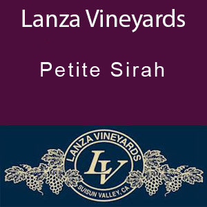 Lanza Vineyards Petite Sirah
