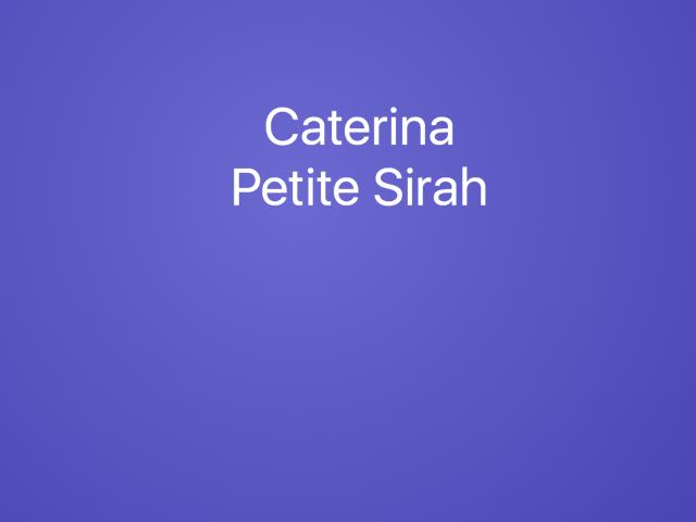 Caterina Petite Sirah