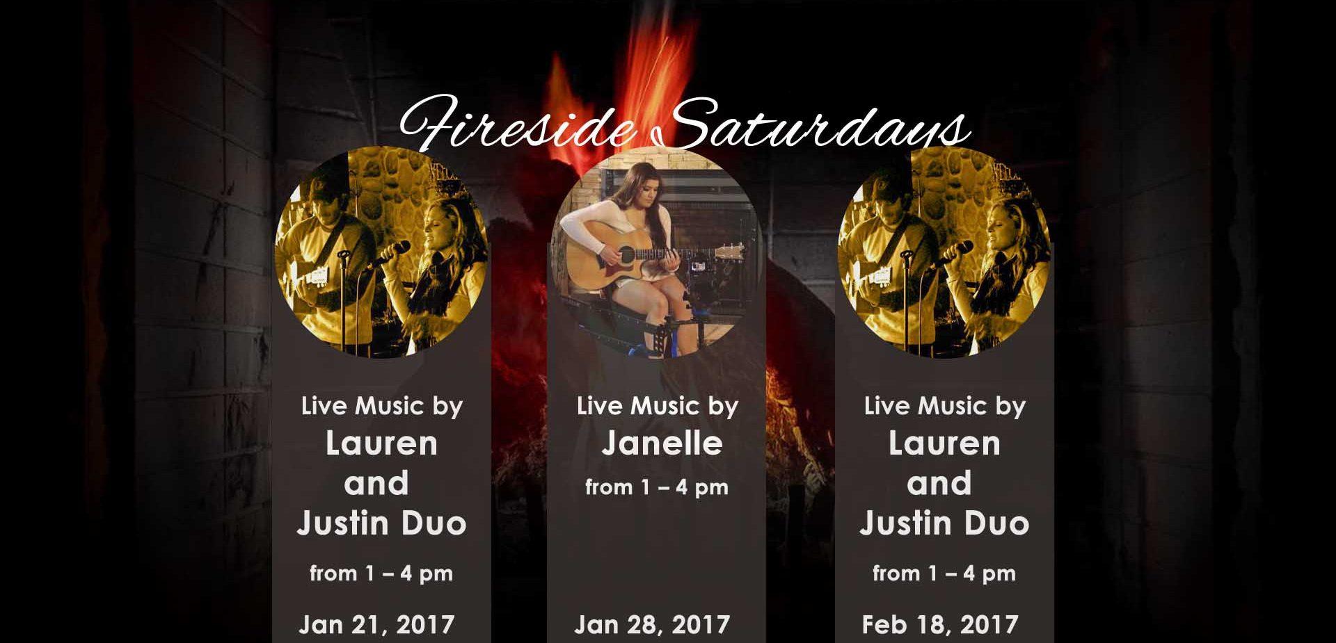 Fireside Saturday Weekend Events