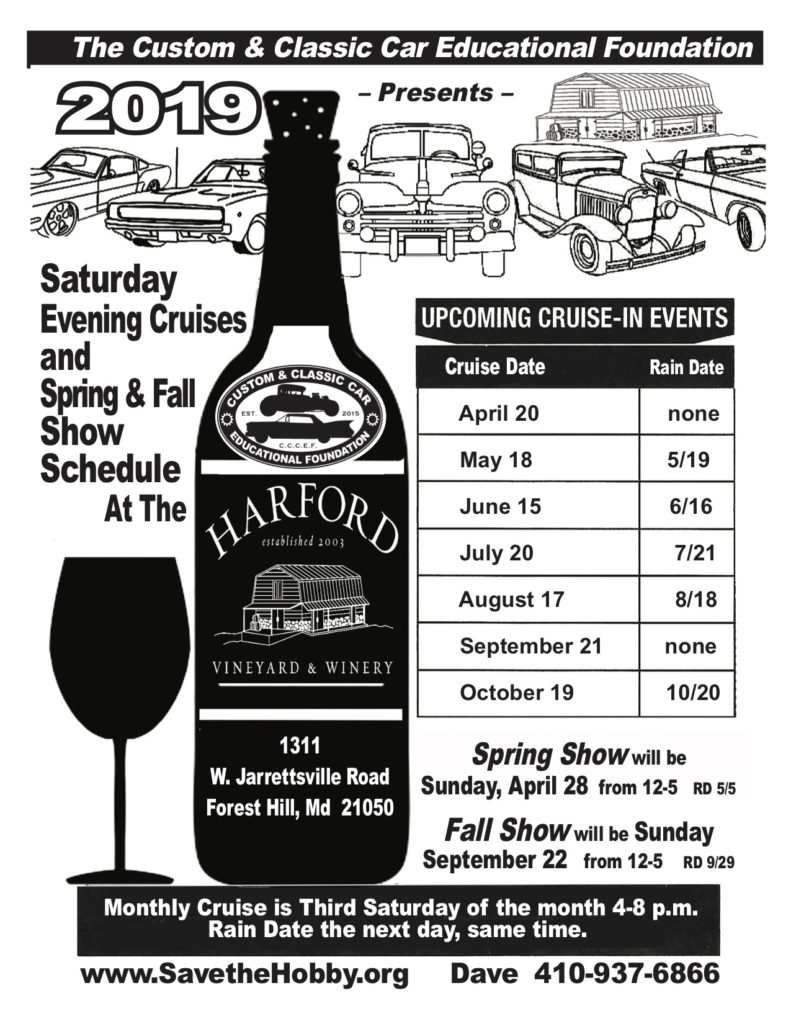 Car Cruise @ Harford Vineyard & Winery
