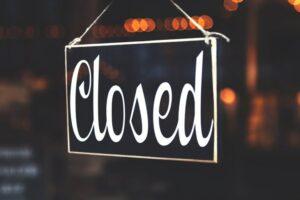 Closed 12/25/20 - 1/1/21